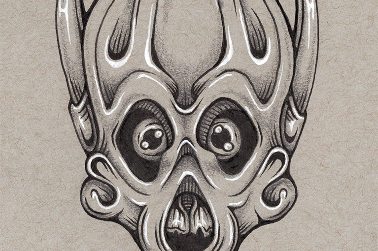 Mask 03 drawing